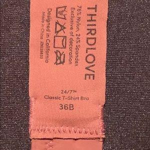 THIRDLOVE Intimates & Sleepwear - THIRDLOVE Classic T-shirt bra size 36B